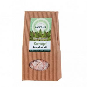 Kúpeľová soľ - KONOPE 500g