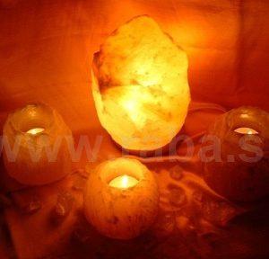 Soľné lampy